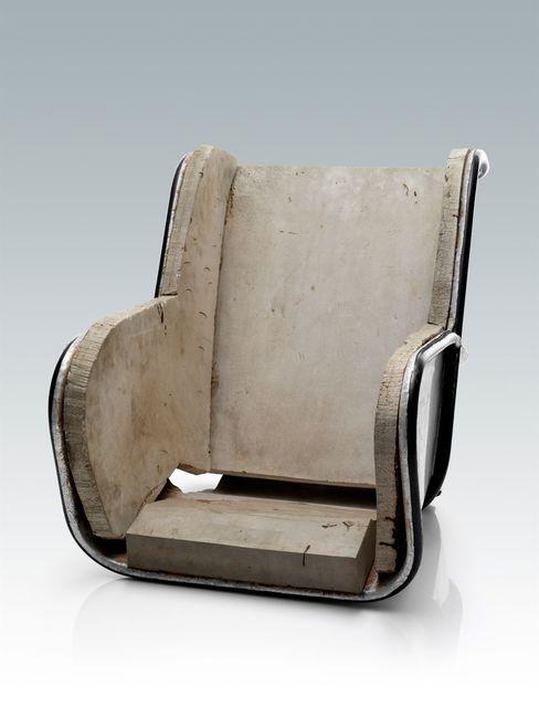 1964. Primer prototipo de asiento infantil