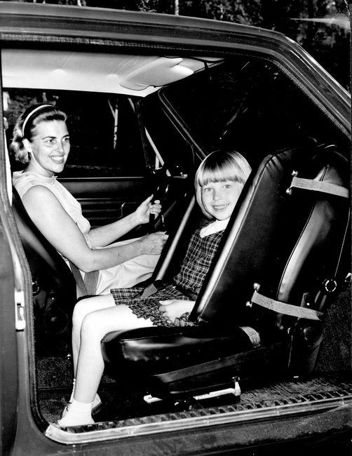 1967 asiento del pasajero reversibe