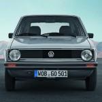 1974 Volkswagen Golf I frontal