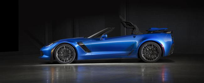 Chevrolet Corvette Z06 Convertible 2015 03