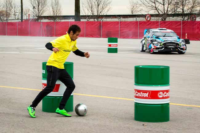 Footkhana Neymar vs Ken Block