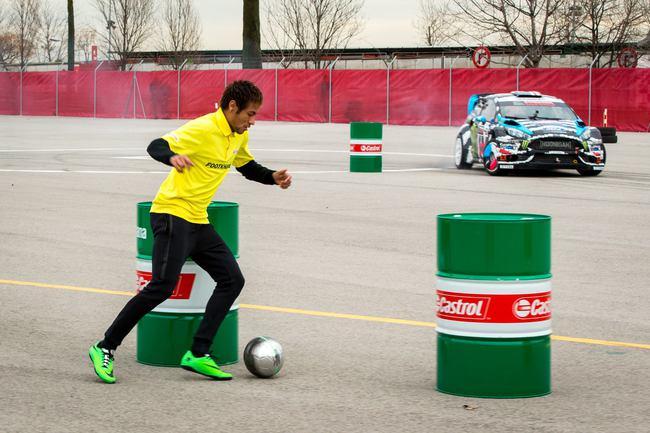 Footkhana Neymar vs Ken Block