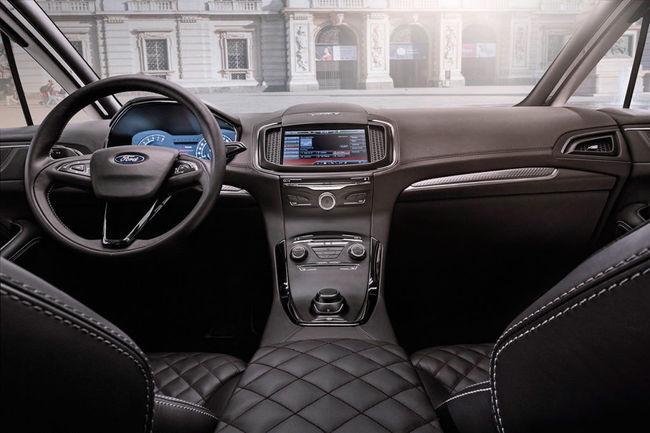 Ford S-MAX Vignale Concept 2014 interior 04
