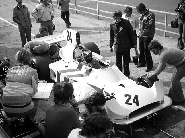 Hesketh 308 1974 James Hunt 14