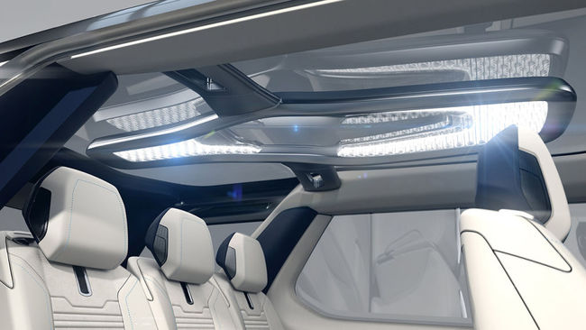 Land Rover Discovery Vision Concept 2014 interior 01