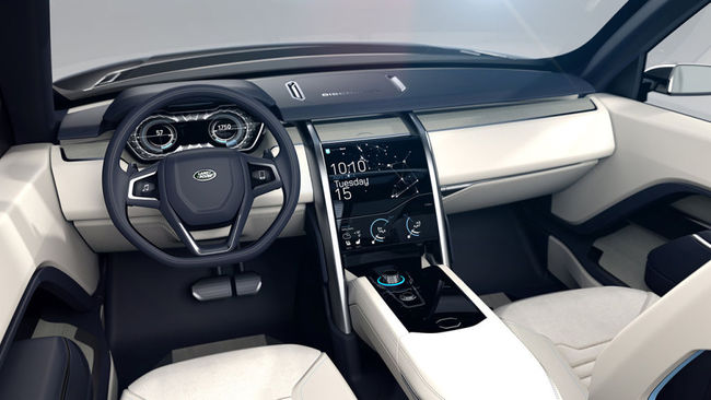 Land Rover Discovery Vision Concept 2014 interior 02