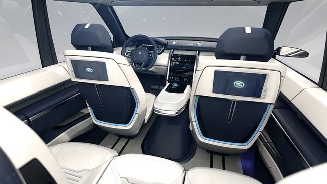 Land Rover Discovery Vision Concept 2014 interior 03