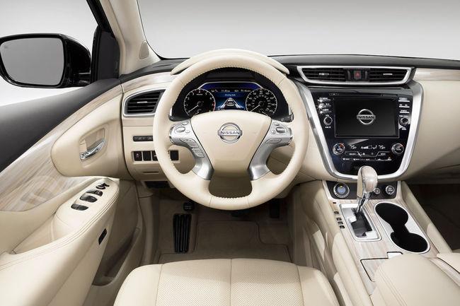 Nissan Murano 2015 interior 02