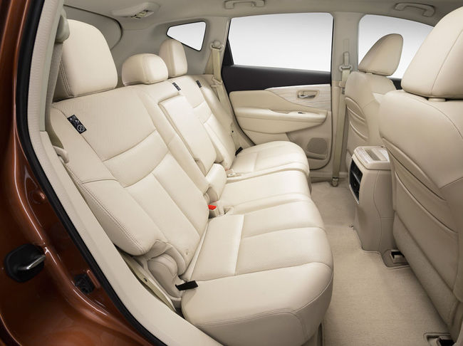 Nissan Murano 2015 interior 06