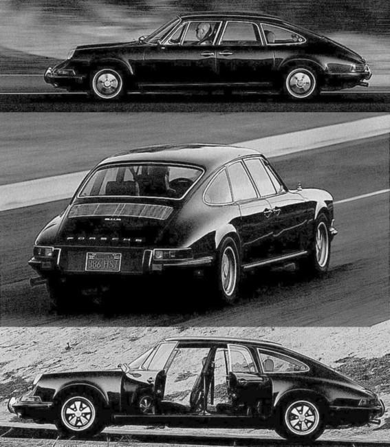 Porsche 911 4 puertas Sedan by Troutman-Barnes 1967 03