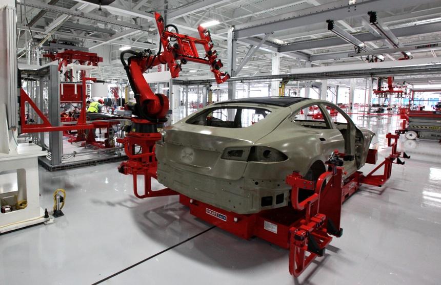 Tesla Model S fabrica