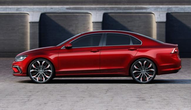 Volkswagen New Midsize Coupe Concept 2014 08 650x373 Volkswagen New Midsize Coupé, ¿nueva línea para el Jetta?