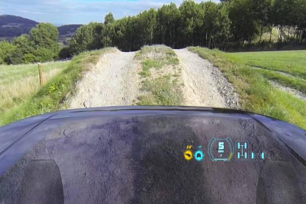 capo Land Rover transparente