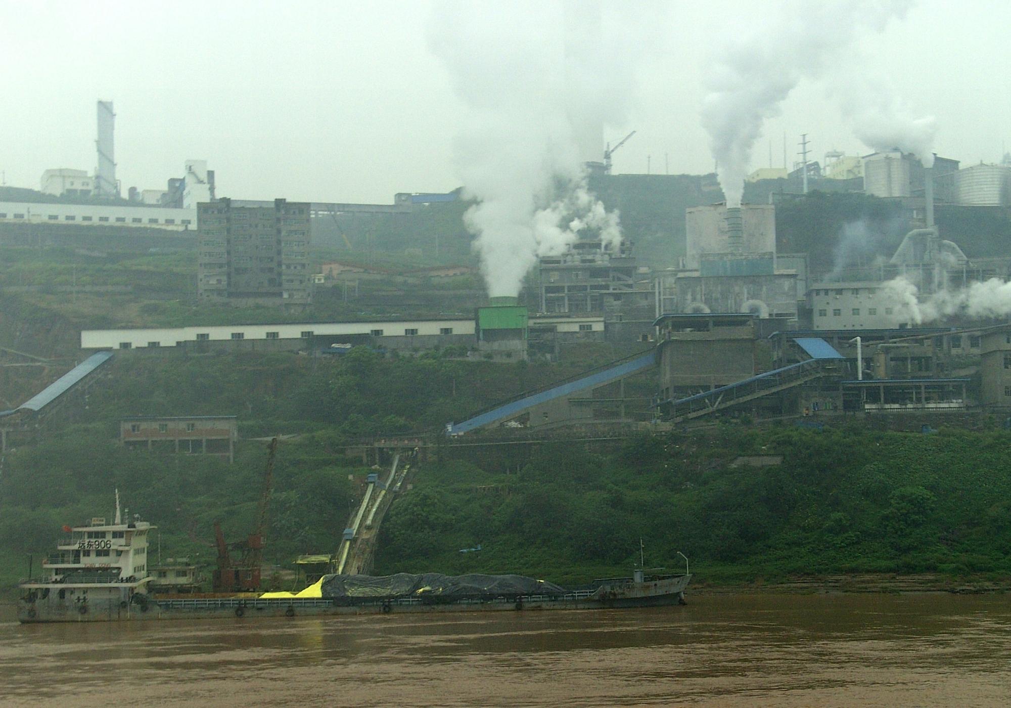contaminacion china
