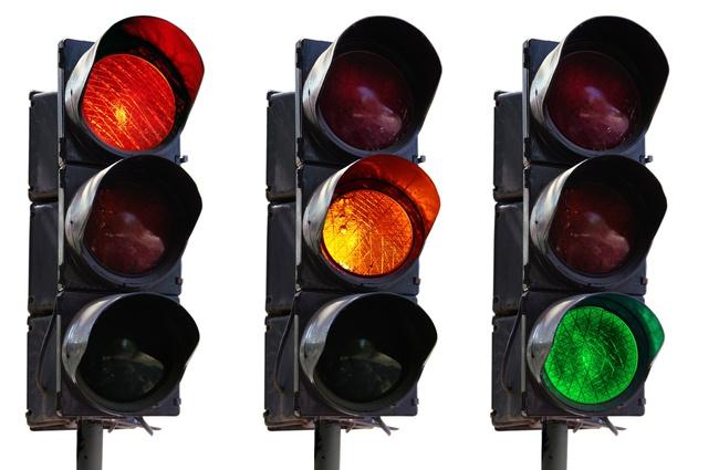 semaforos ley trafico