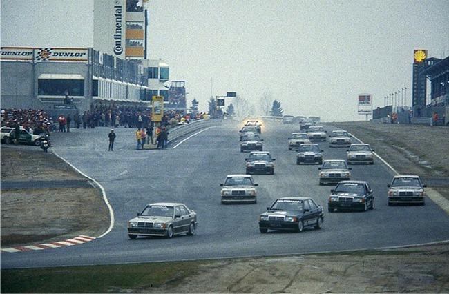 1984 Nurburgring Mercedes 190