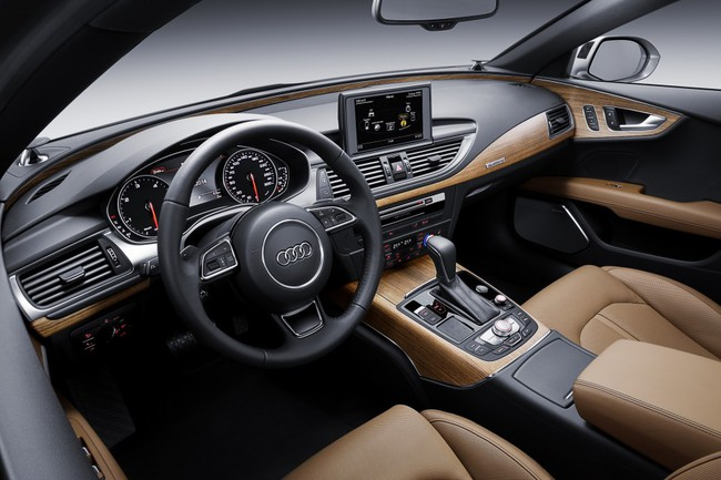 Audi A7 2014 interior 02