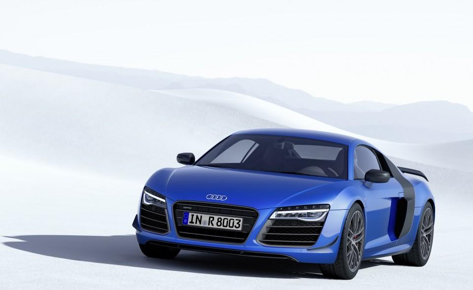 Audi R8 LMX 2014 faros laser
