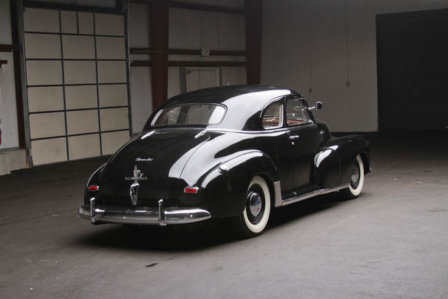 Chevrolet Stylemaster Club Coupe 1948 02