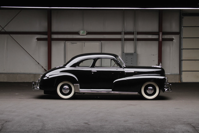 Chevrolet Stylemaster Club Coupe 1948 04