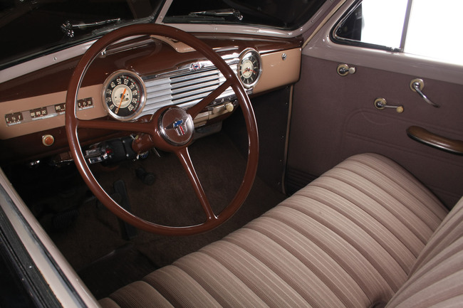 Chevrolet Stylemaster Club Coupe 1948 interior 02