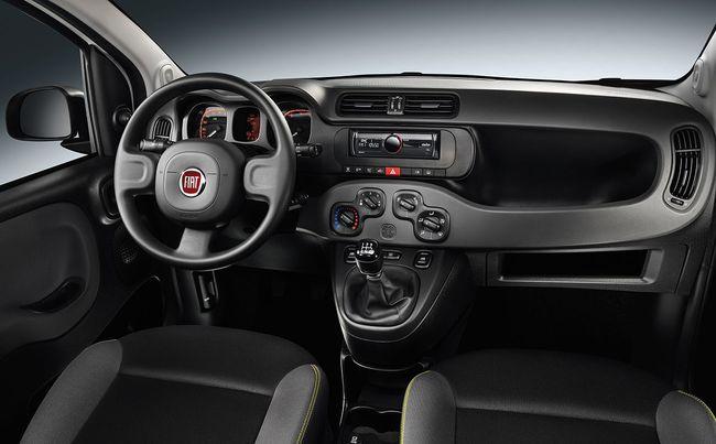 Fiat Panda Young 2014 interior 01