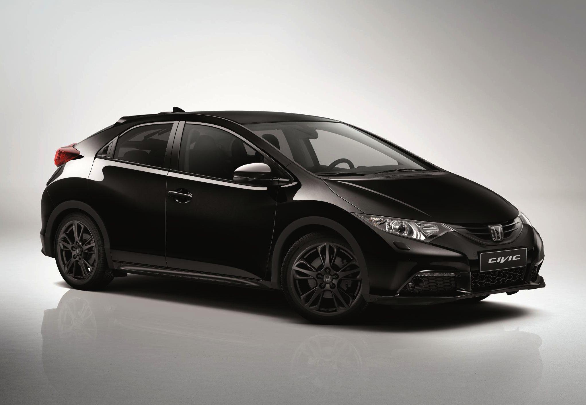 Honda Civic Black Edition 2014 01