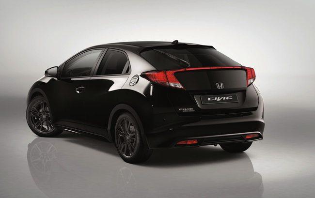 Honda Civic Black Edition 2014 02