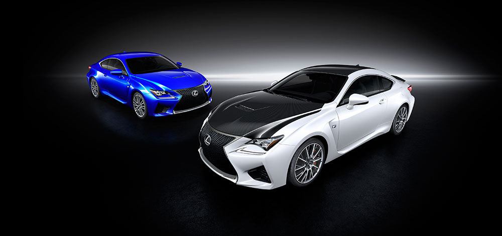 Lexus RC F 2014 carbon pack