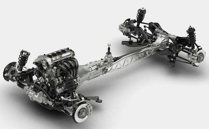 Mazda MX-5 2015 chasis