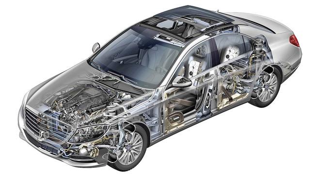 Mercedes-Benz Clase S - el mejor automóvil del mundo 32