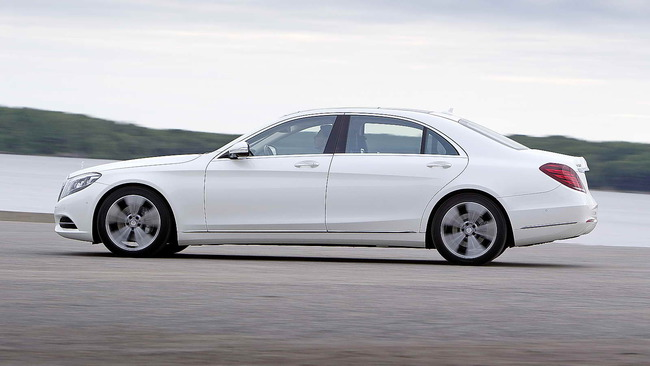 Mercedes-Benz Clase S - el mejor automóvil del mundo 50