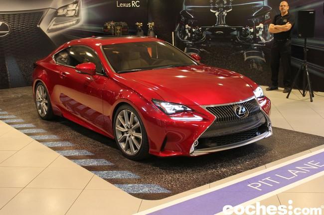 Presentacion Lexus RC
