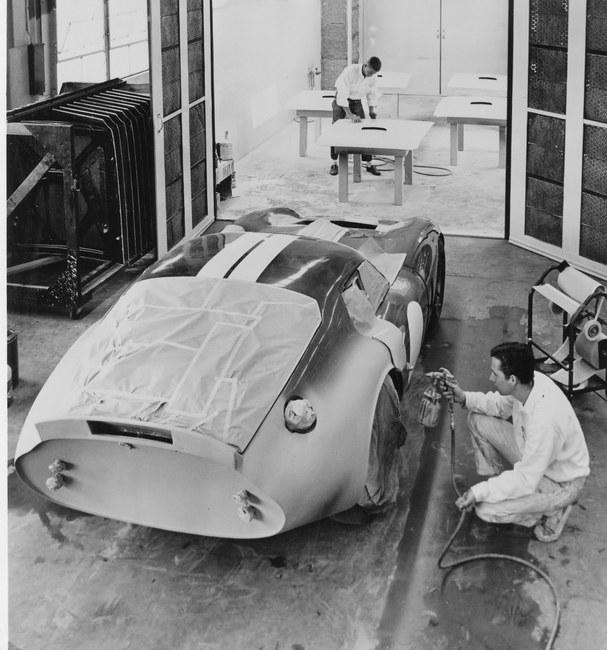 Shelby Cobra Daytona Coupe preparacion