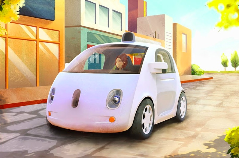 coche sin conductor
