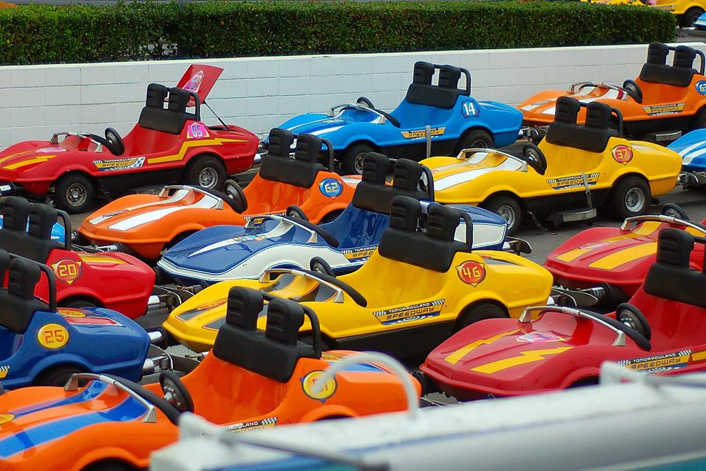 coches de colores