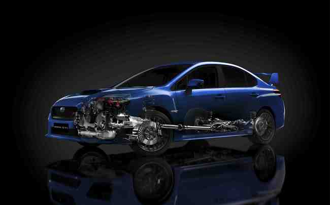 esquema Subaru WRX STI