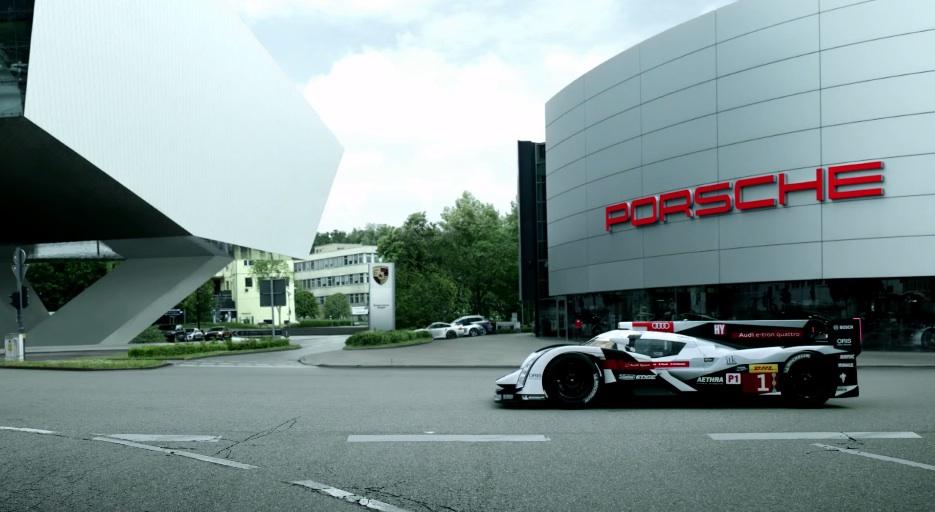Audi Porsche Le Mans 2014