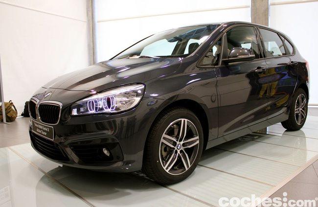 BMW Serie 2 Active Tourer presentación 01