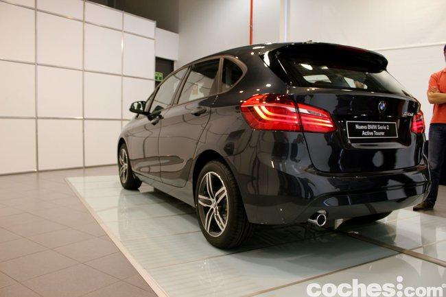 BMW Serie 2 Active Tourer presentación 38