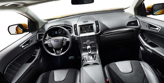 Ford Edge 2015 interior 04