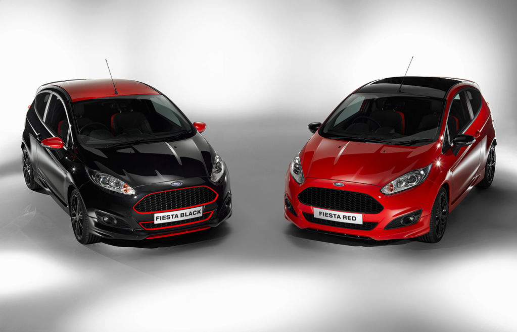 Ford Fiesta Red Edition Black Edition 2014 01