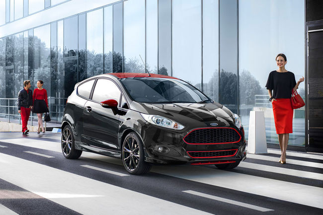 Ford Fiesta Red Edition Black Edition 2014 09