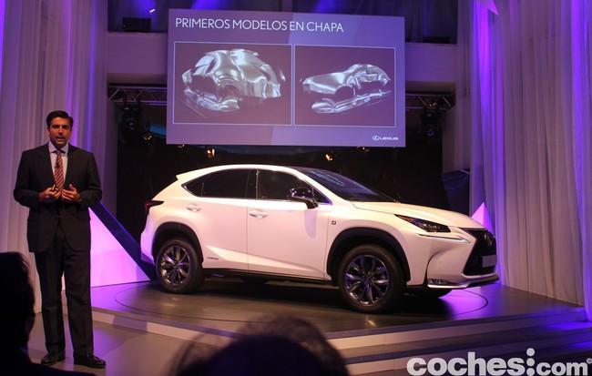 Lexus NX 300h 2014 presentación 1