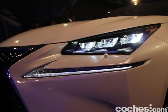 Lexus NX 300h 2014 presentación 45