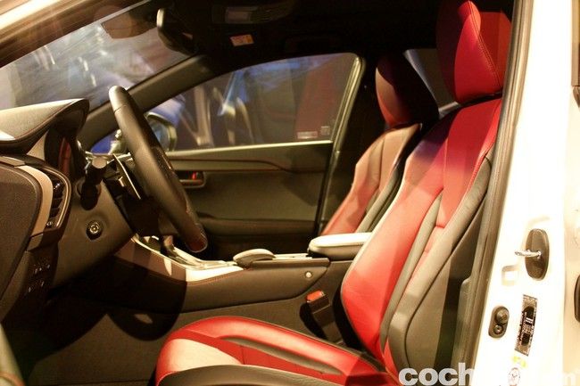 Lexus NX 300h 2014 presentación 49