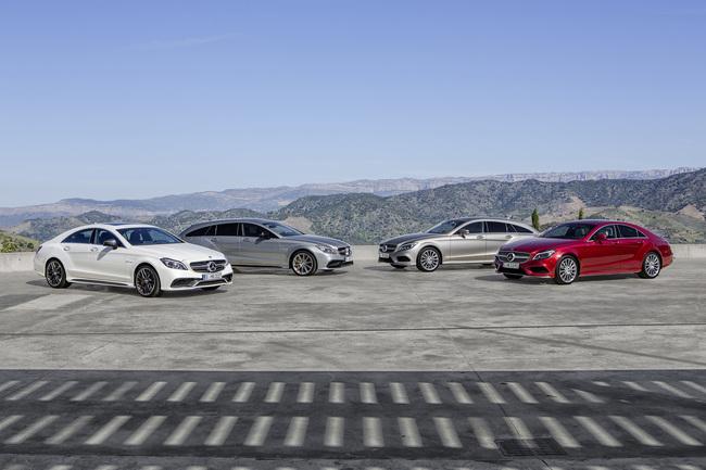Mercedes-Benz Clase CLS 2014 gama