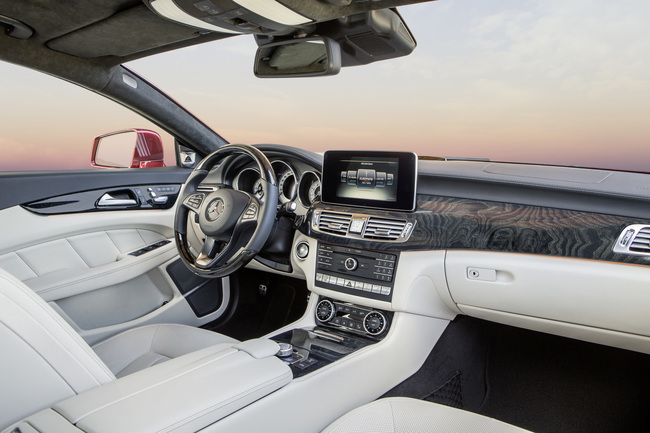 Mercedes-Benz Clase CLS 2014 interior