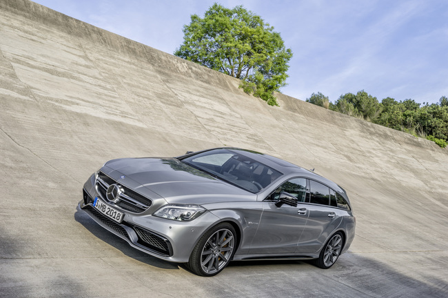 Mercedes-Benz Clase CLS Shooting Brake 2014 04