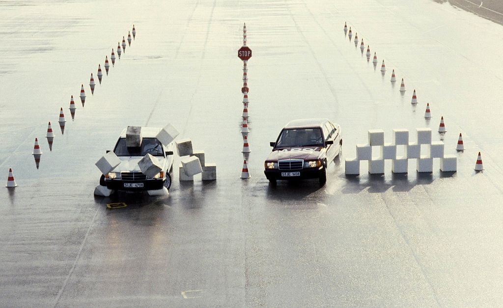 Mercedes-Benz test seguridad
